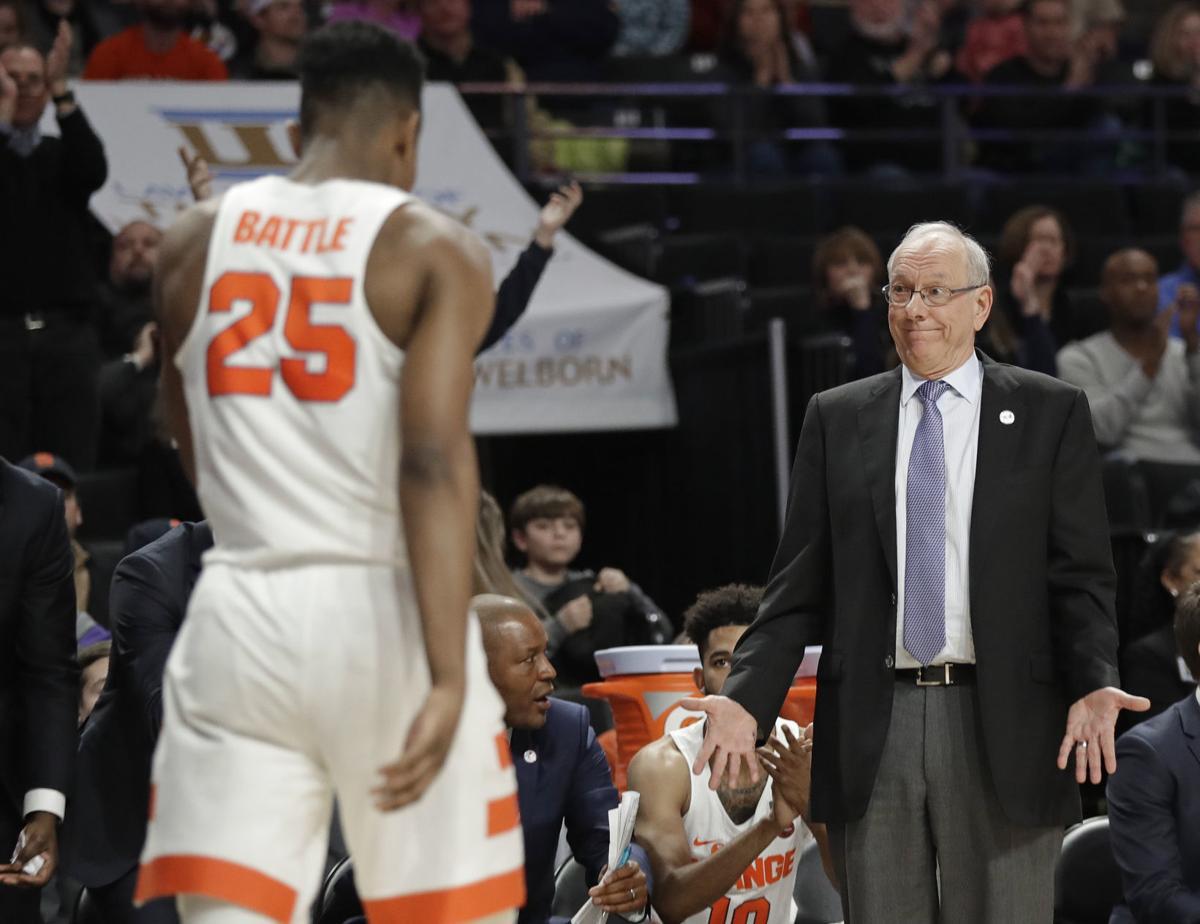 Syracuse Wake Forest Basketball