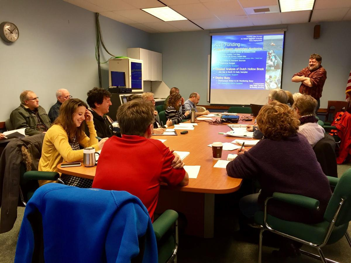 Owasco Lake Watershed Management Council meeting