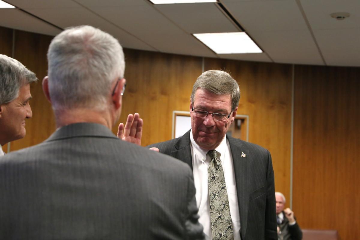 Cayuga County Legislature reorganization meeting