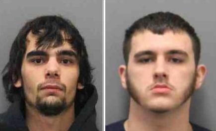 Homicide suspects mugshots