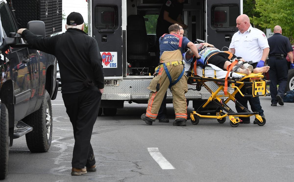 Truck pedestrian accident