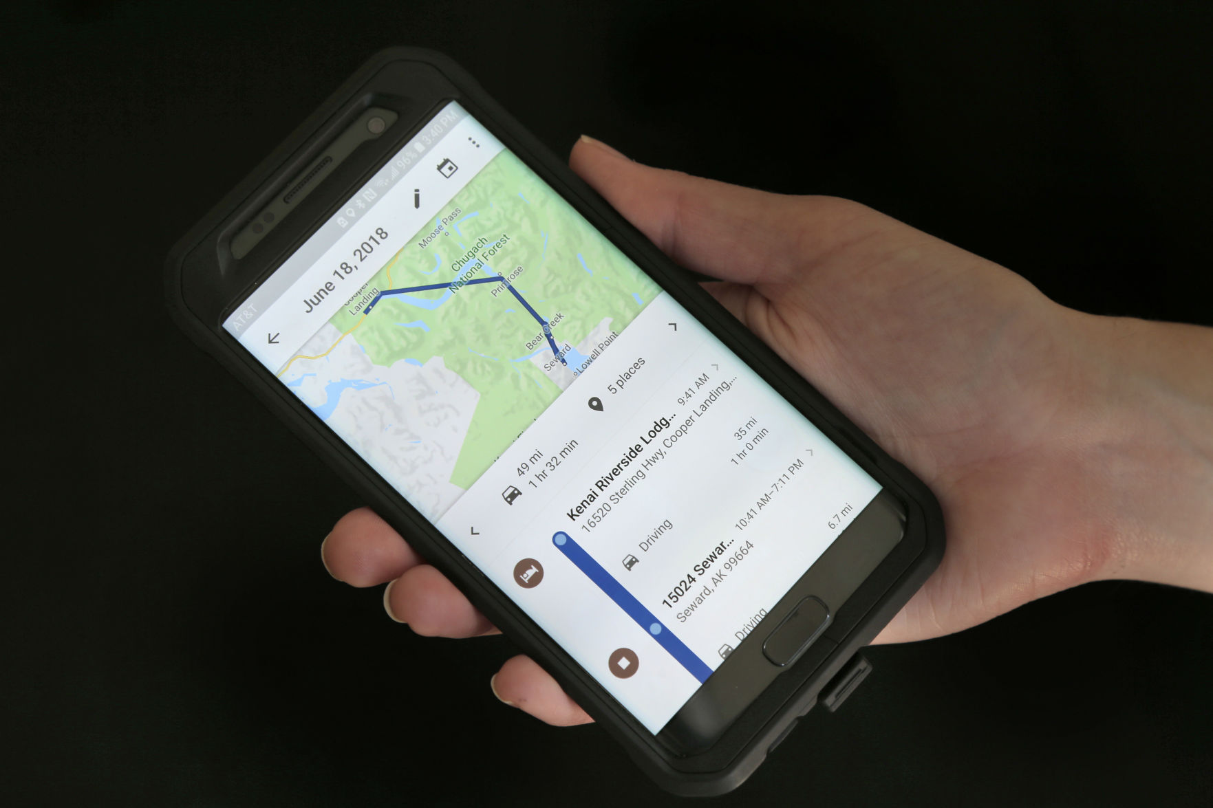 Google Location Tracking How to find and