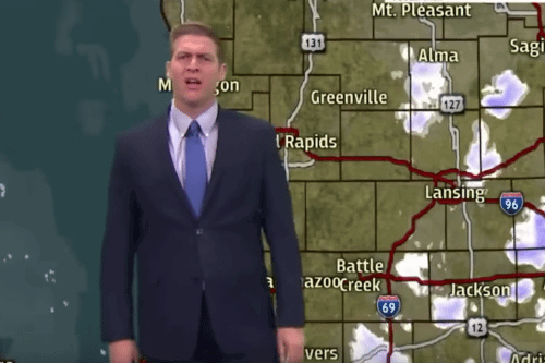 This Weatherman's Rant Sums Up How We All Feel About Cold April Weather