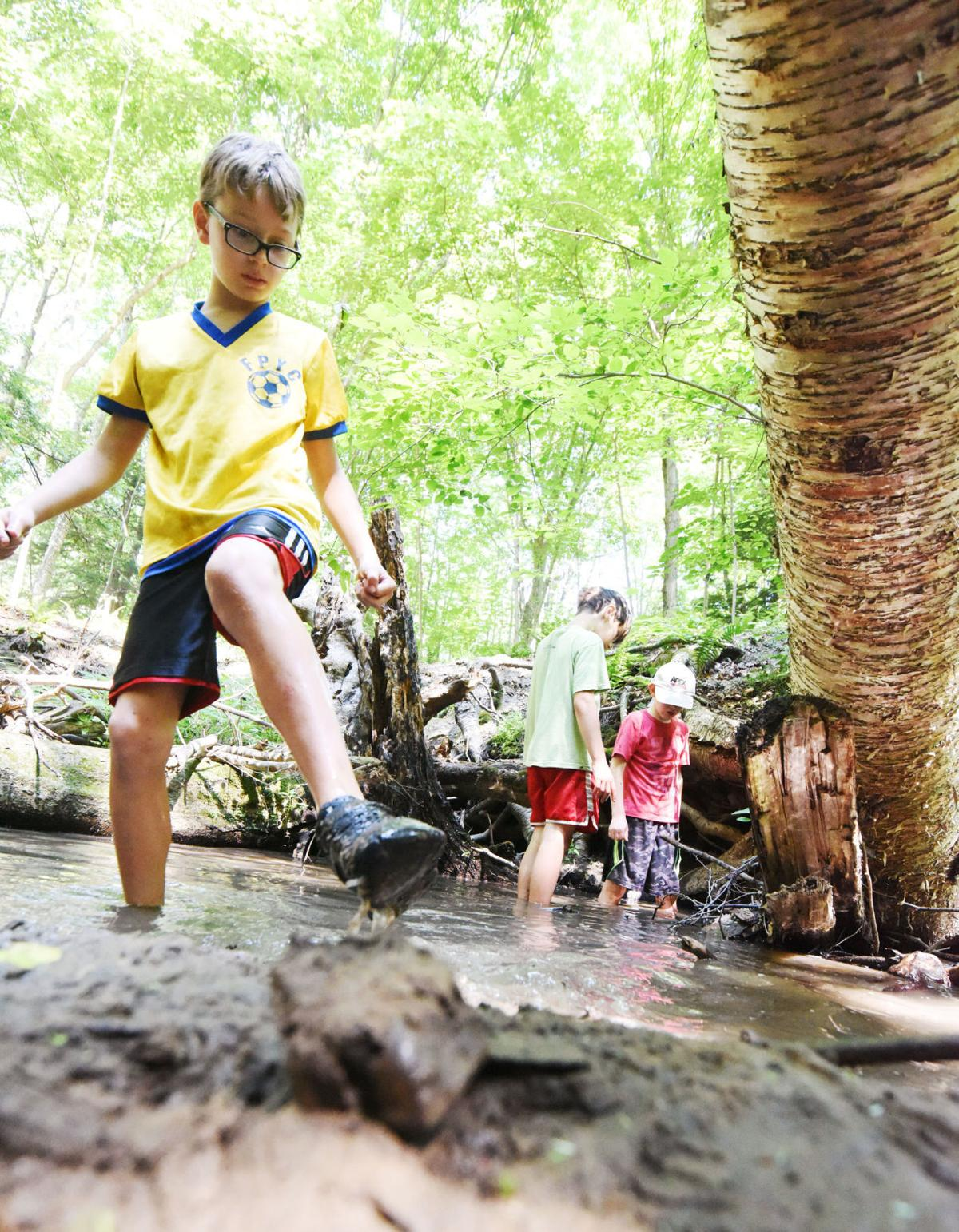 A giant, wooded playground': Area children relish summer