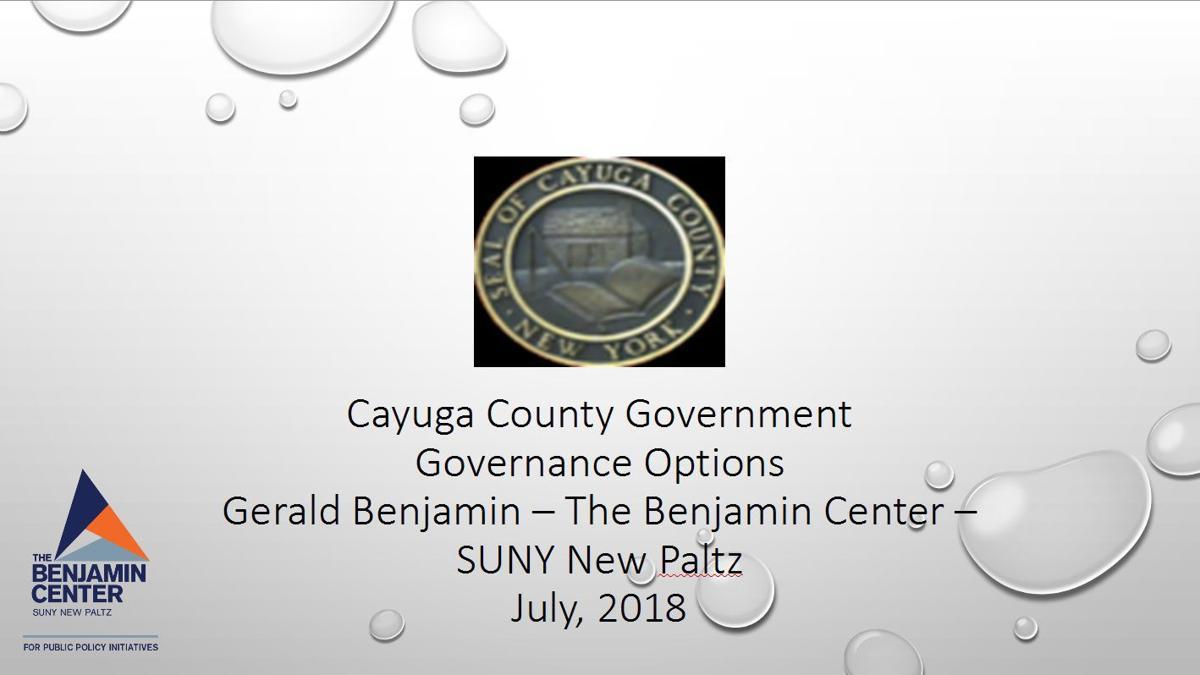 Cayuga County Legislature to explore commission on redistricting, more