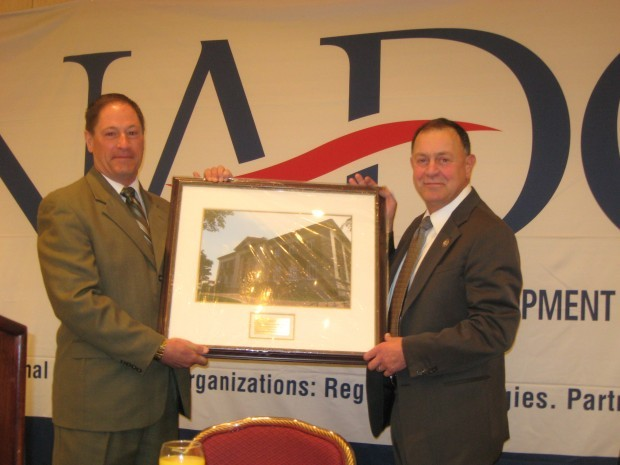 U.S. Rep. Richard Hanna - NADO Award