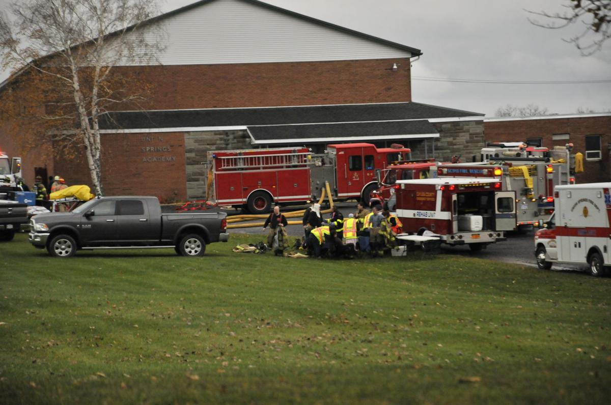 Union Springs Academy Fire