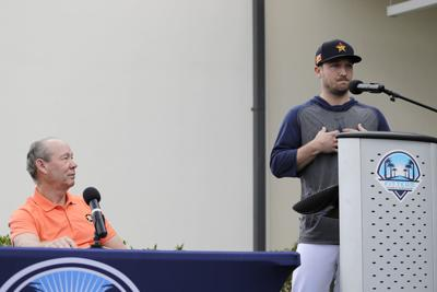 Astros Sign Stealing Baseball