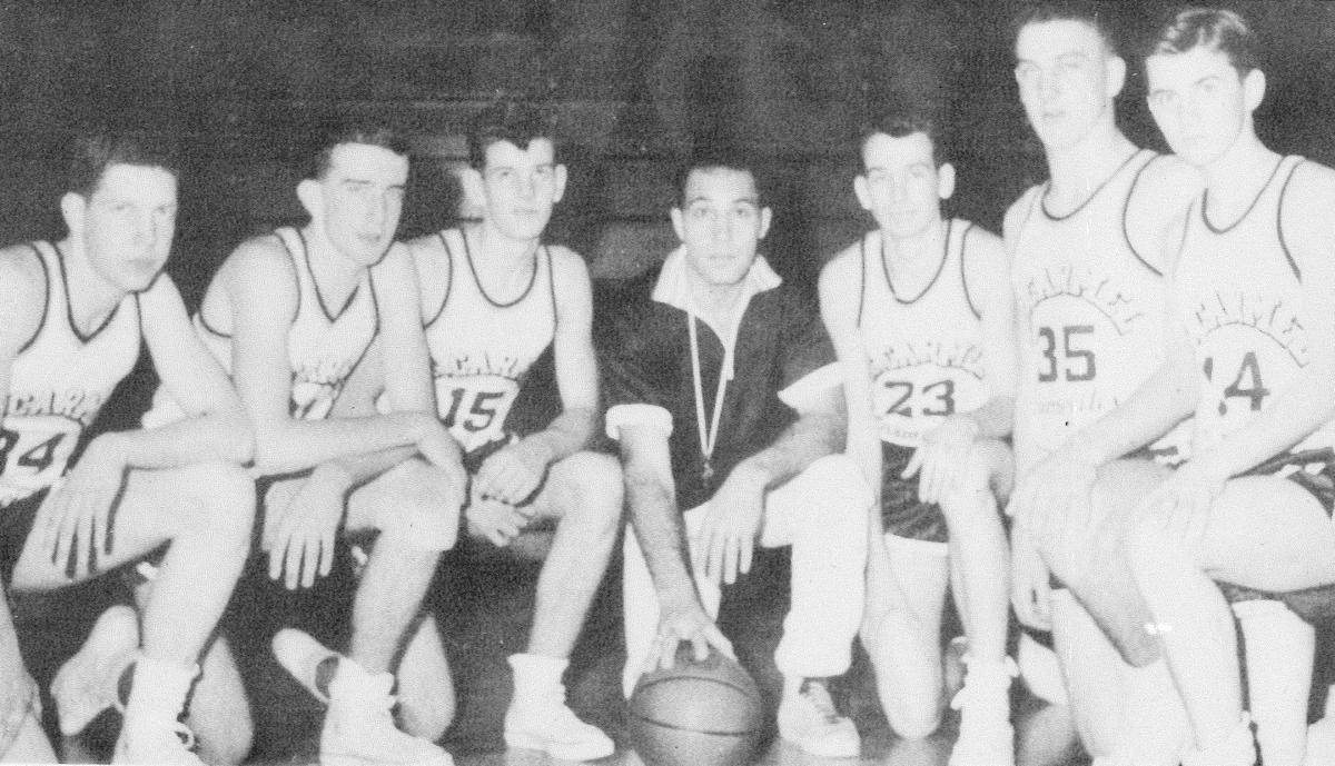 Photo # 1 - 1958 Mt. Carmel Varsity basketball team