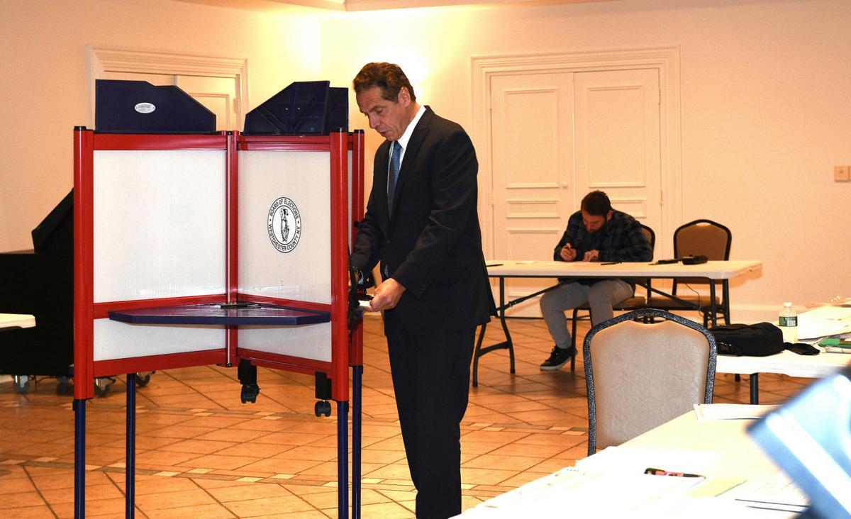 Cuomo votes
