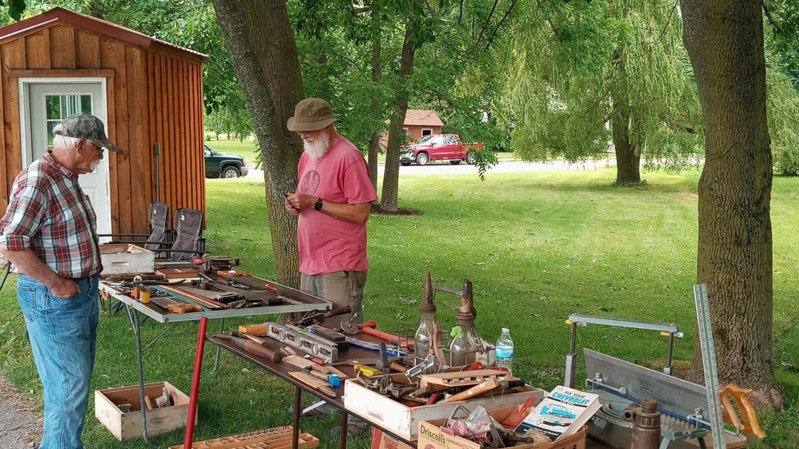 Antique tools show a nod to a different time