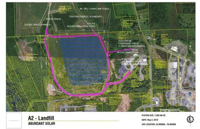Auburn landfill solar