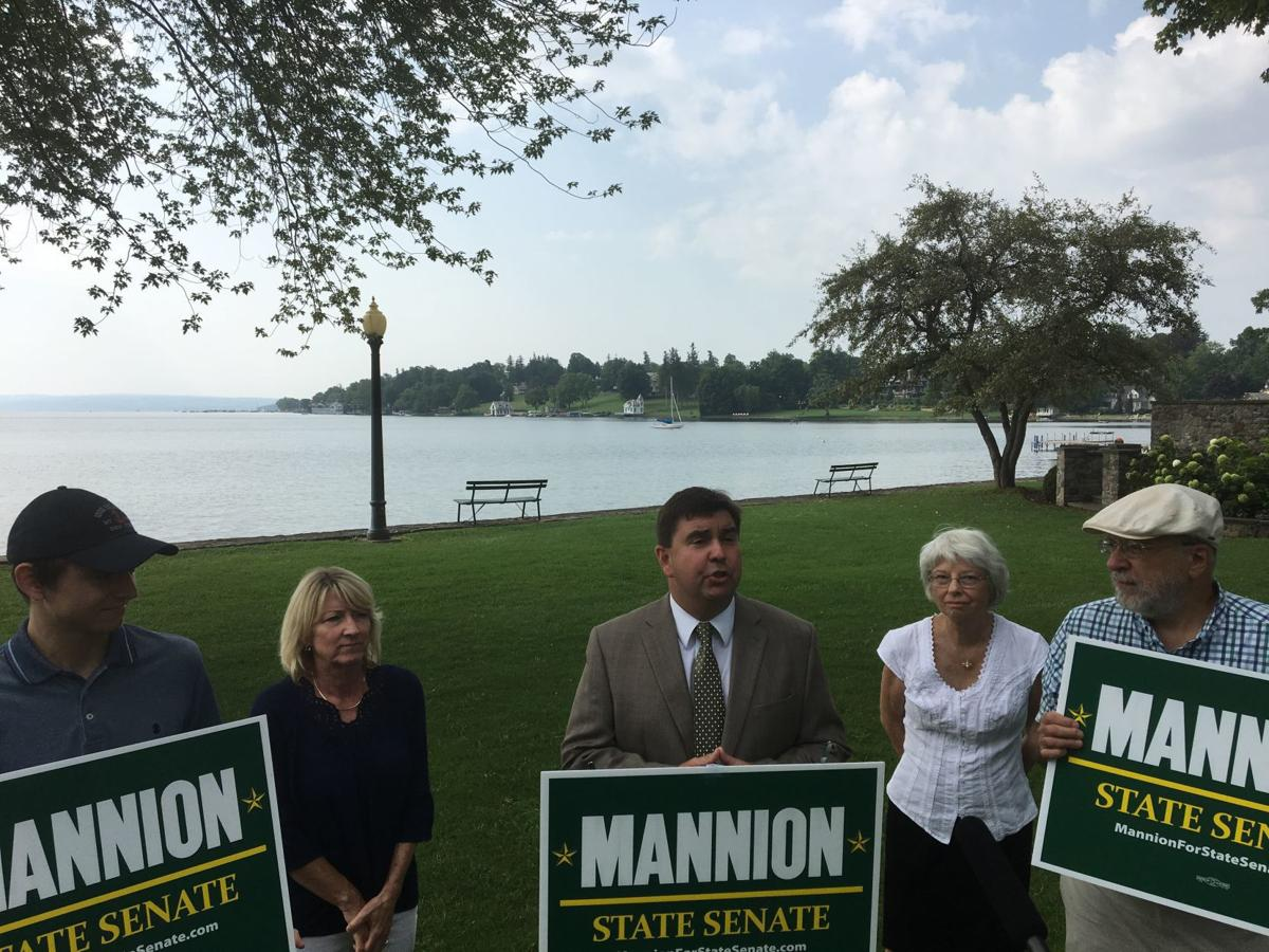 NY Senate candidate Mannion: Algal blooms on Owasco, Skaneateles lakes 'crisis situation'