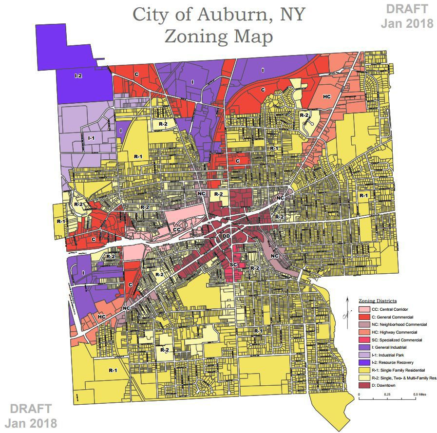 Auburn City Council Sets Public Hearings For Zoning Code