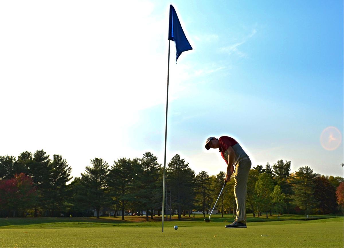 Auburn golf vs. Central Square - 1