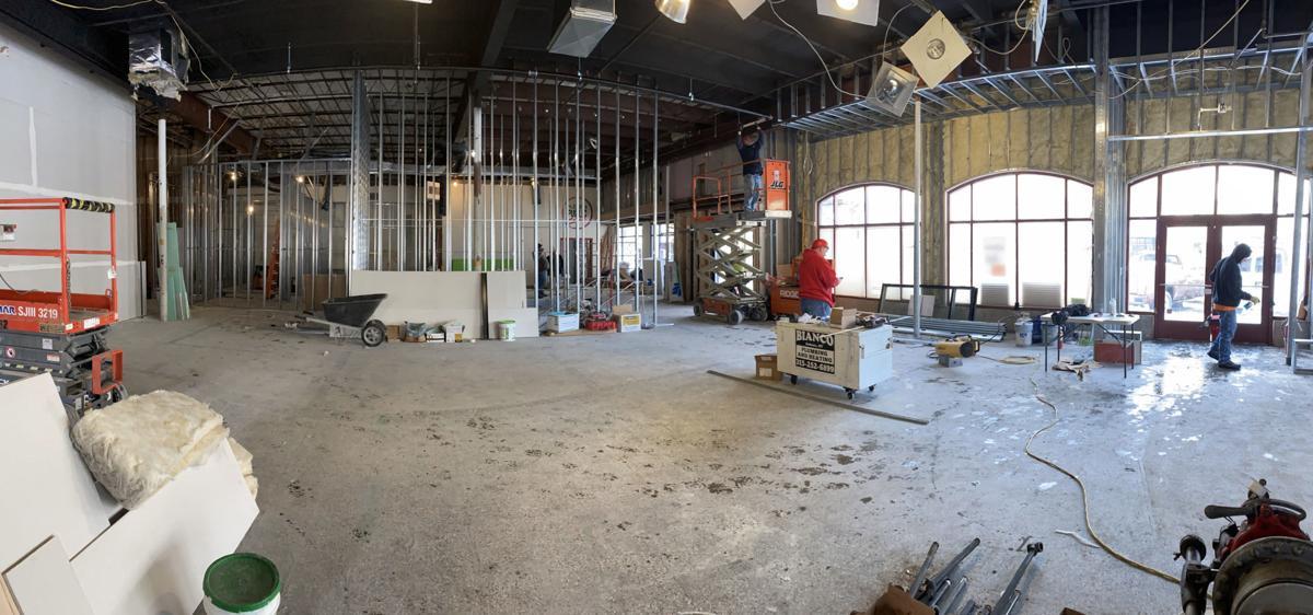 Auburn Public Theater construction 2