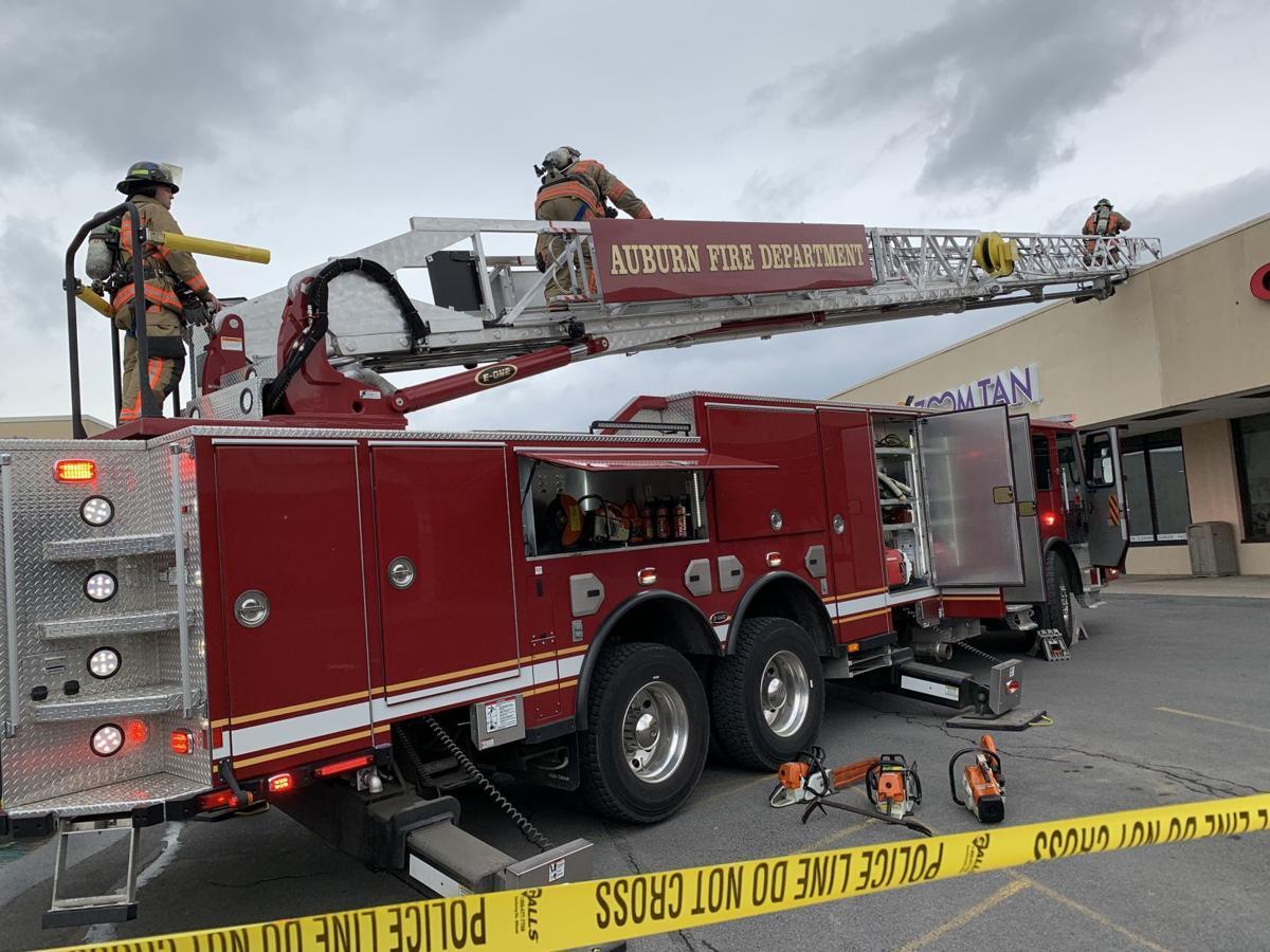 Auburn Plaza fire
