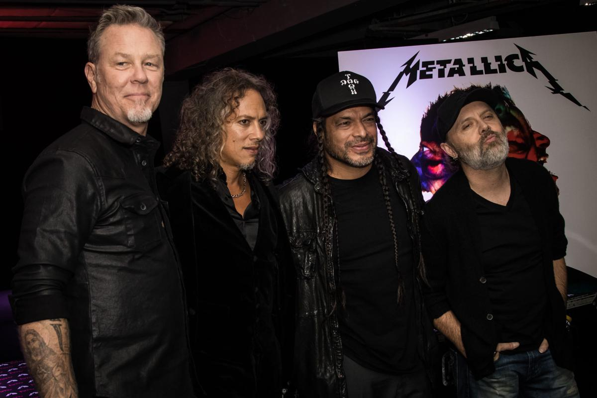 How Metallica, with 'Hardwired,' captures its weird sonic ...