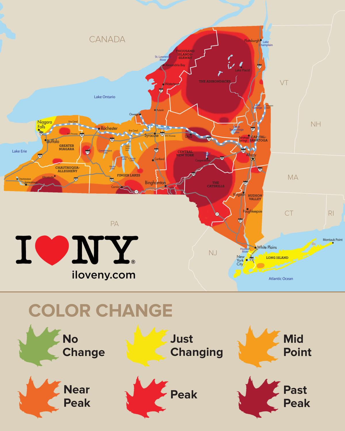 New york state fall foliage report for week of oct 18 local new york state fall foliage report for week of oct 18 sciox Images