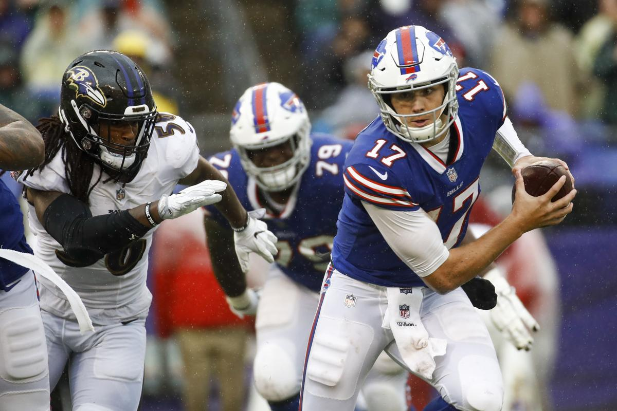 Buffalo Bills Monday Blowout Loss To Ravens Sign Of Things To Come In 2018 In The Pros Auburnpub Com