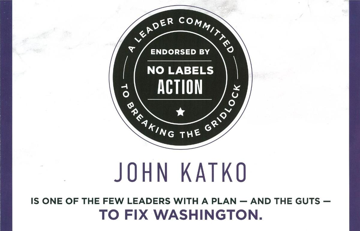 No Labels John Katko Mailer Front