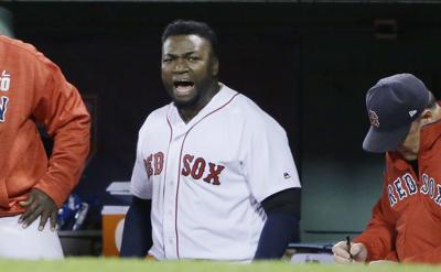 David Ortiz Shot Baseball