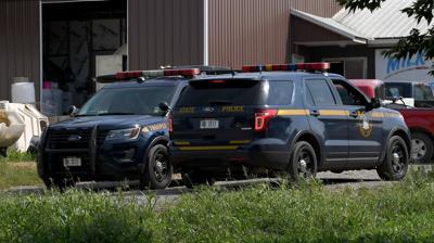 State police SUVs
