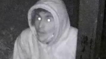 Police seek burglary suspect caught on camera