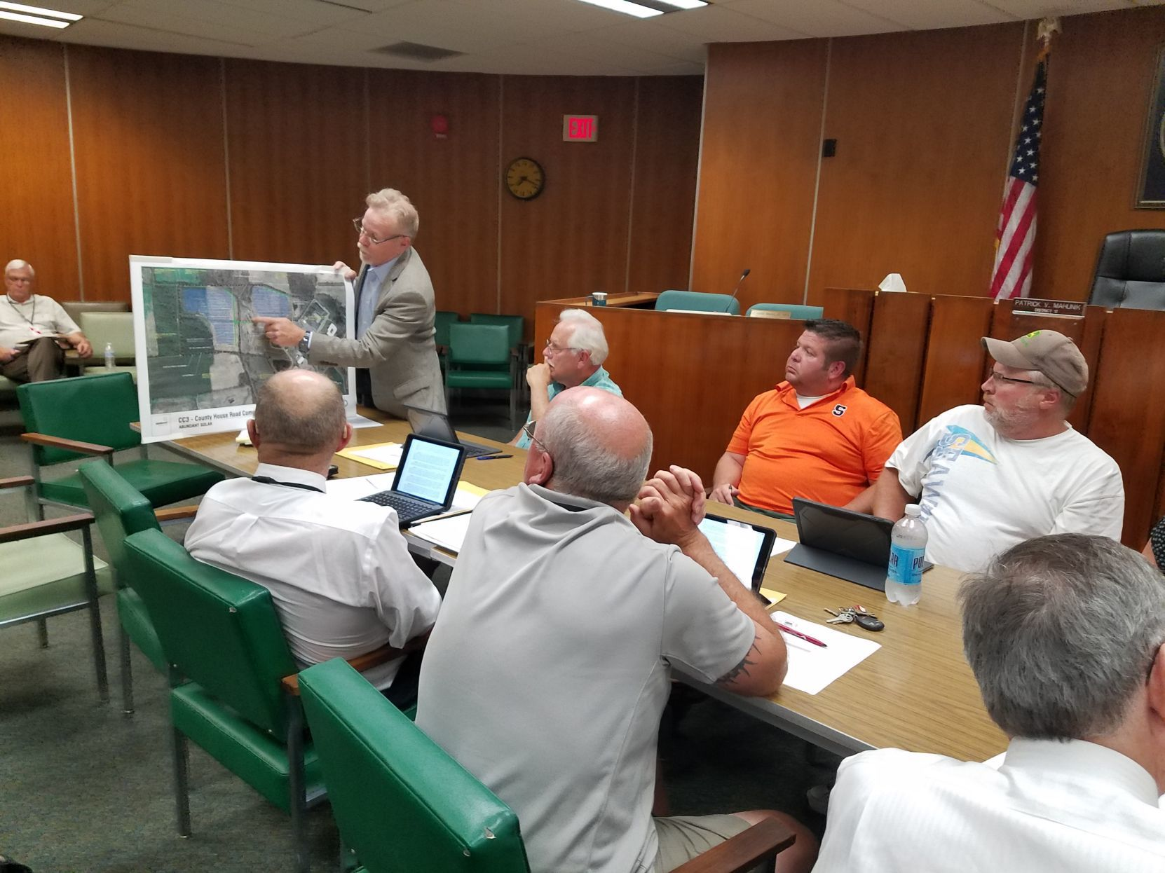 Proposed solar array on Cayuga County property defeated in committee