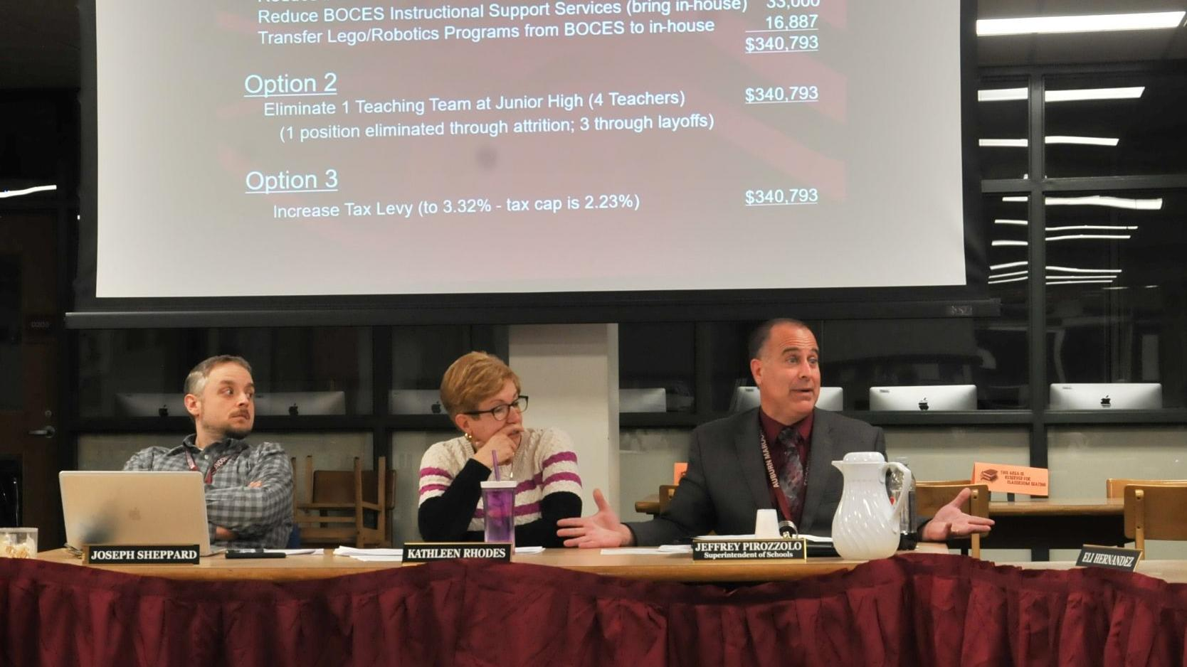 Auburn school board picks budget option that won't include layoffs