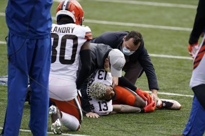 Browns Beckham Injury Football