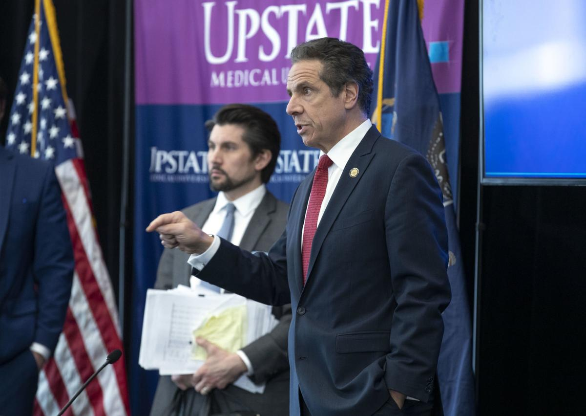 In Syracuse Cuomo Details Plan To Reopen Ny Regions Affected By Covid 19 Pandemic Politics Auburnpub Com