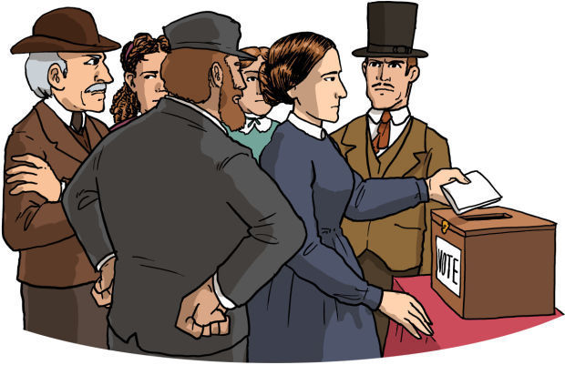 From Seneca Falls to the Polling Place - Chapter 4