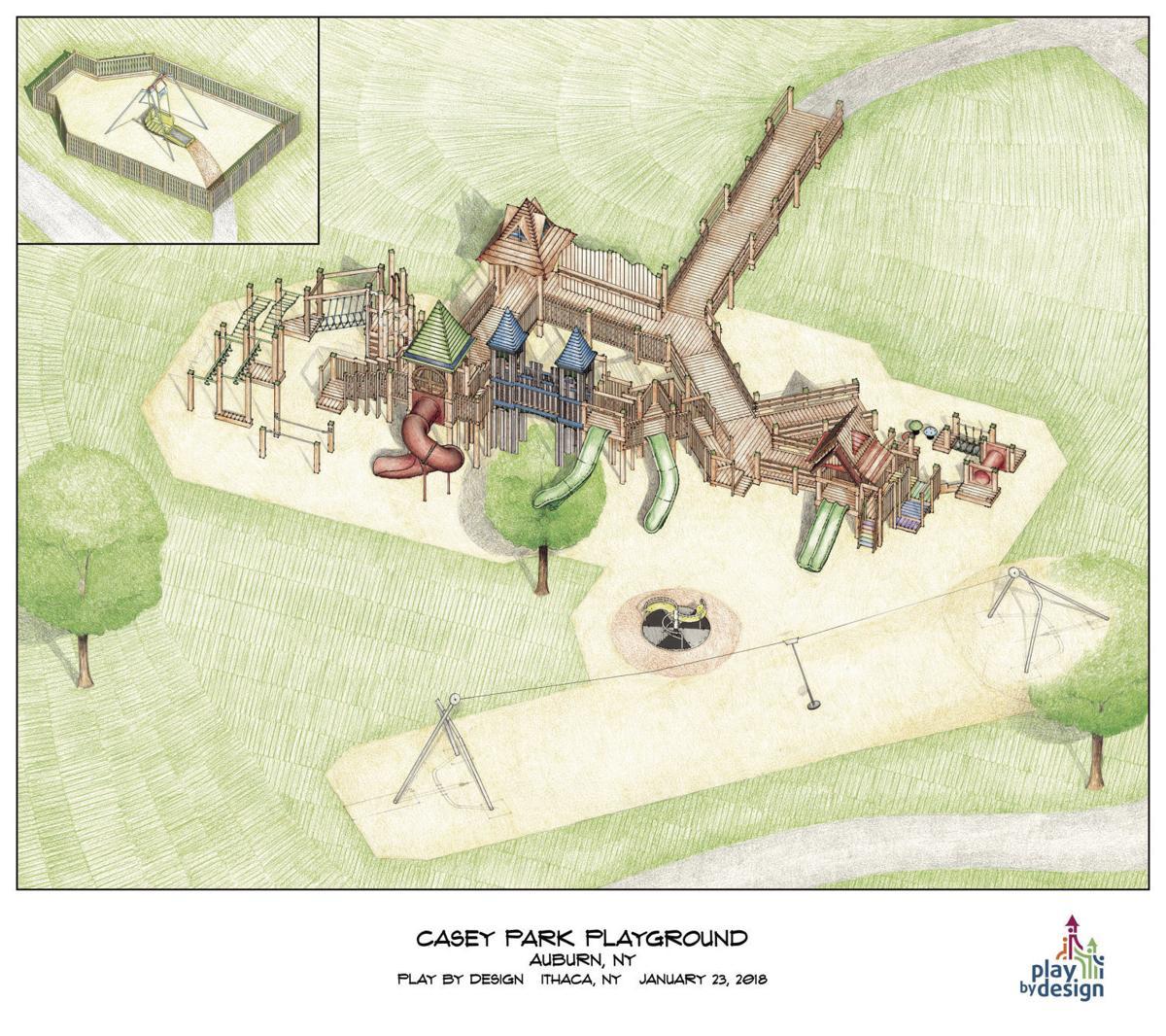Casey Park playground rendering 1