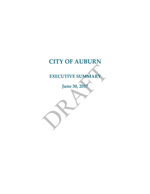 2016-2017 City of Auburn audit report