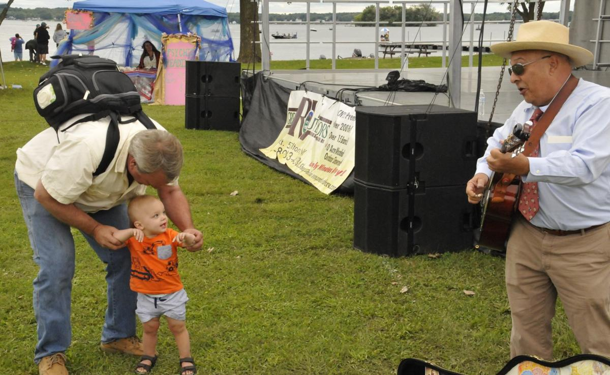 Families catch some fun at festival during Bassmaster Elite