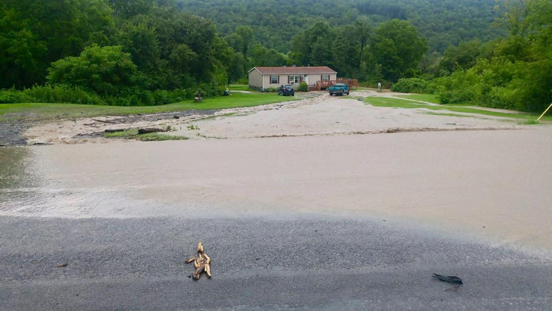 More rain brings more flood damage to southern cayuga for Auburnpub