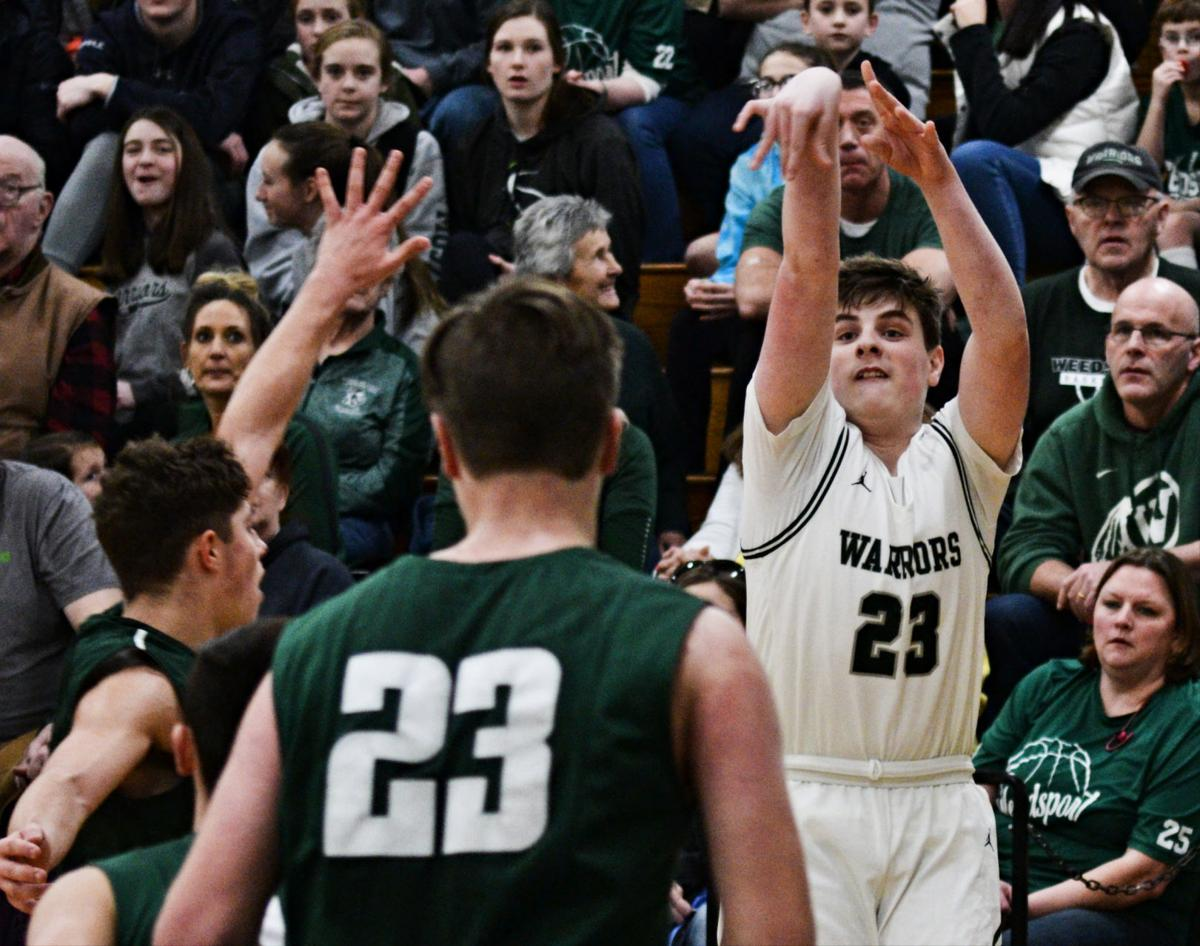 In foul-filled sectional contest, Weedsport beats Westmoreland