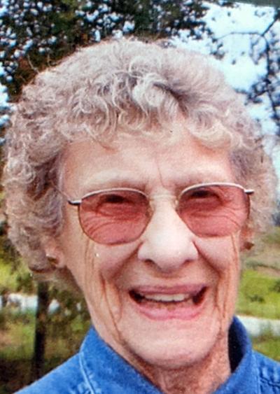 """Bertha M. """"Bert"""" Rowe"""