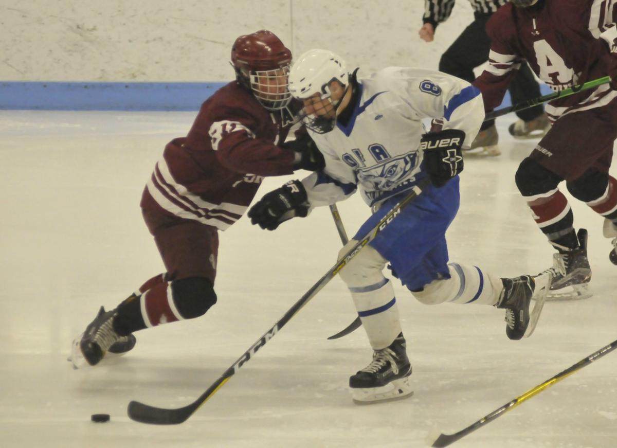 Auburn hockey vs. Ogdensburg Free Academy, NYSPHSAA regionals