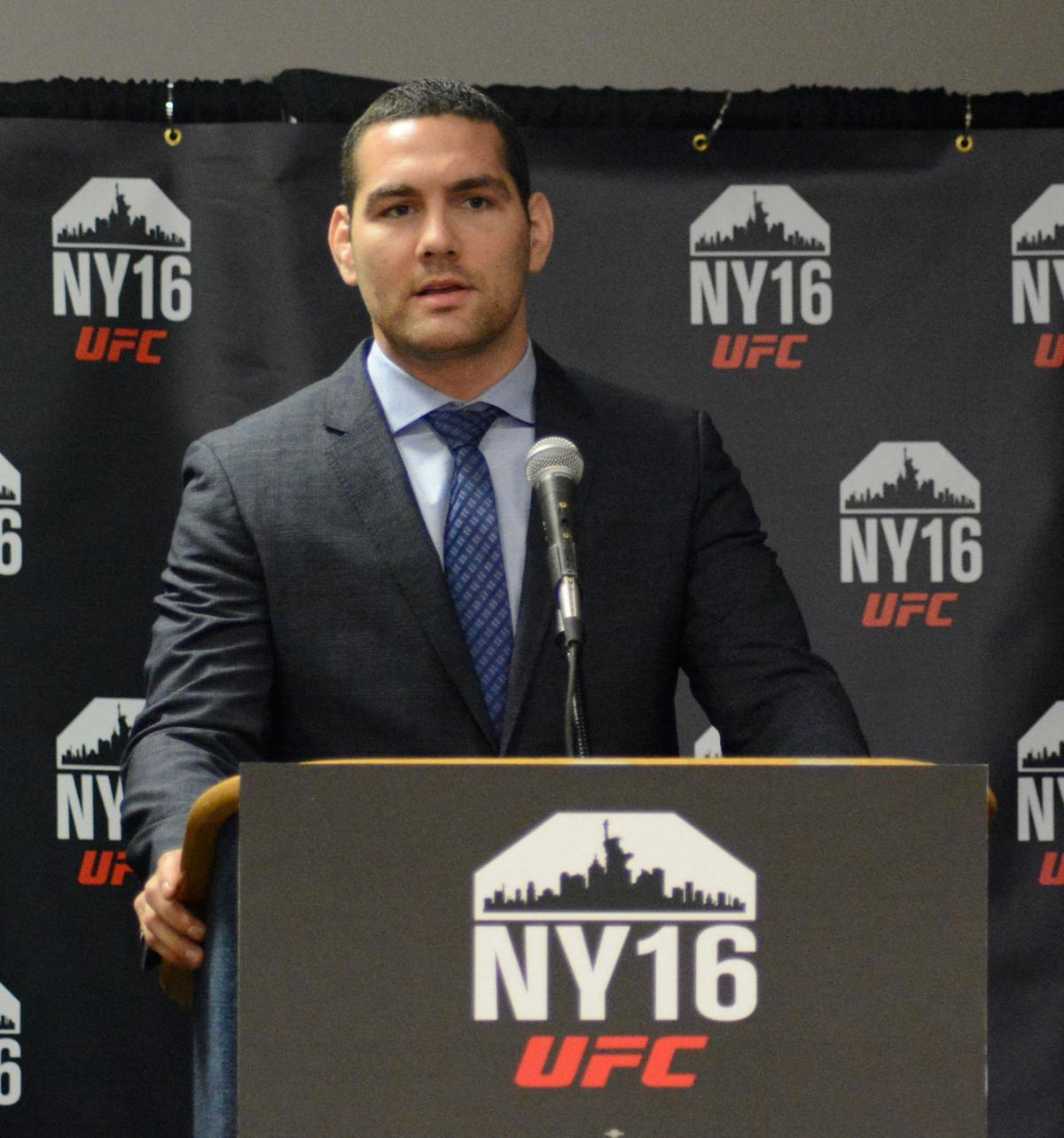 UFC Renews Pledge To Hold Fights In New York