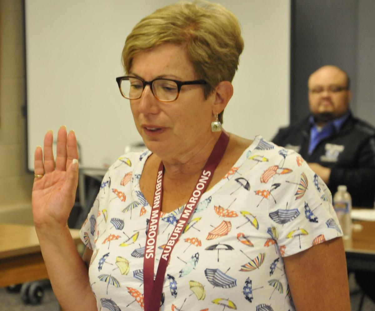 Auburn school board president, vice president reelected for new school year