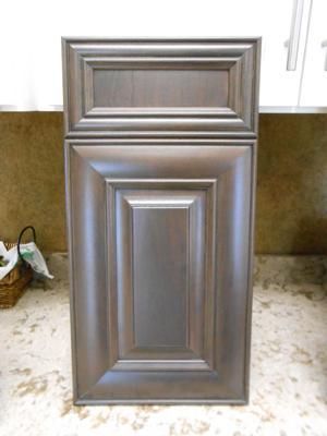 Showplace Kitchen Cabinet Doors in Peppercorn