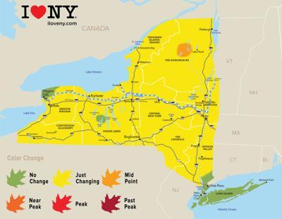 Fall foliage report: Sept. 26, 2018