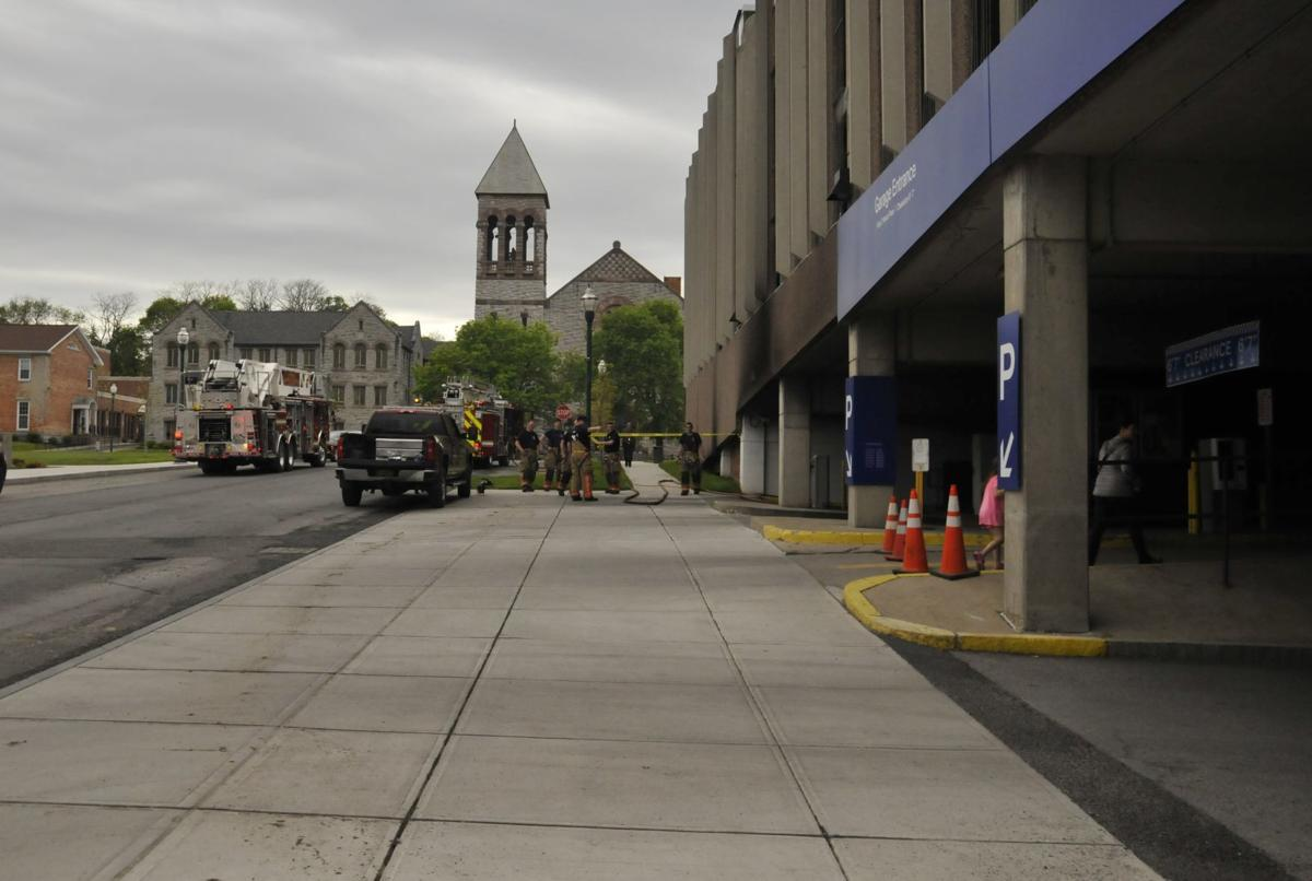 Fire Damages Municipal Parking Garage In Downtown Auburn Local