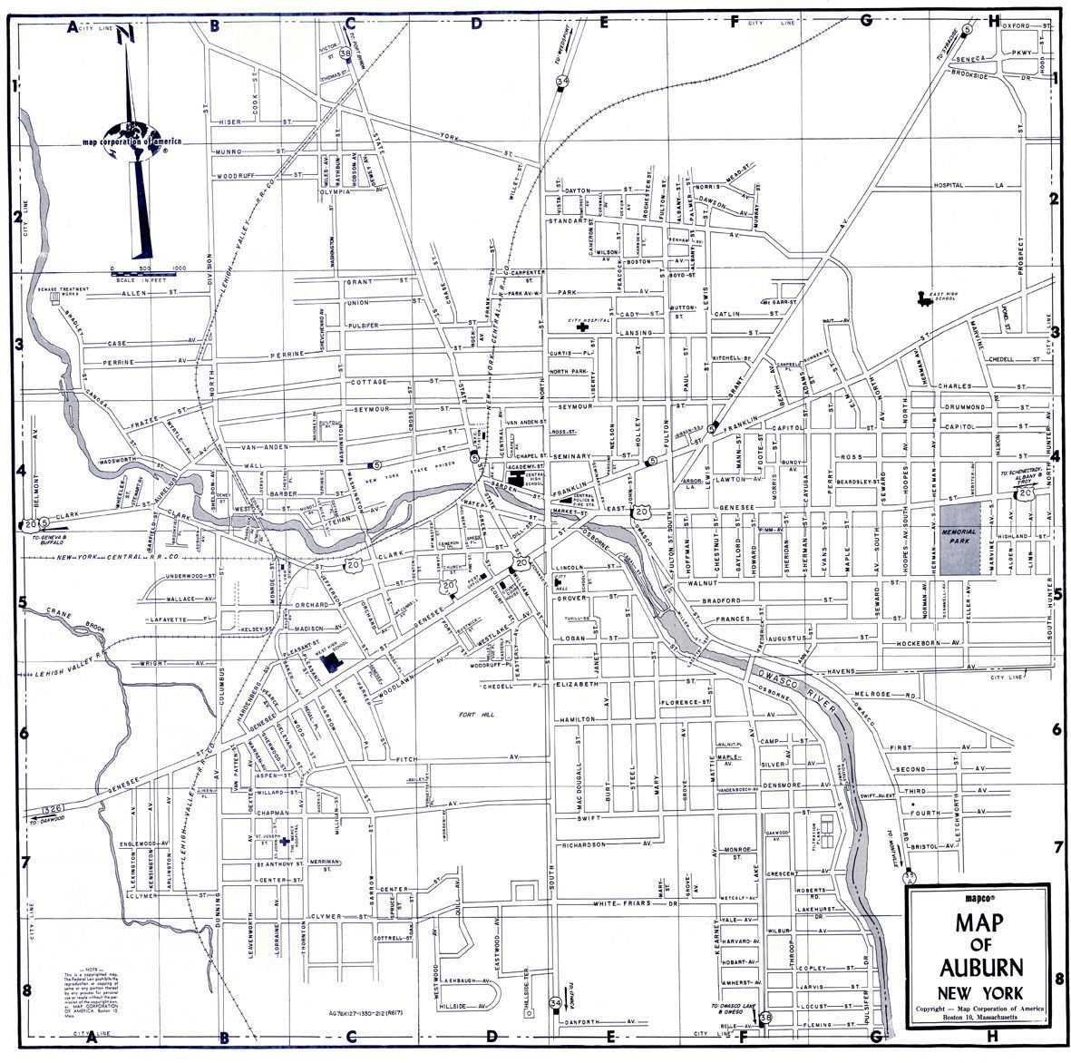 Before urban renewal map