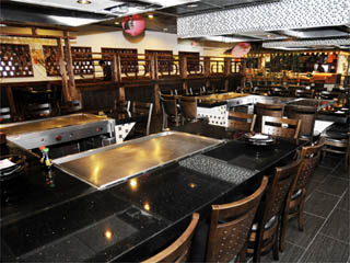 The Hibachi Dining Area Of Ichiban Anese Steakhouse