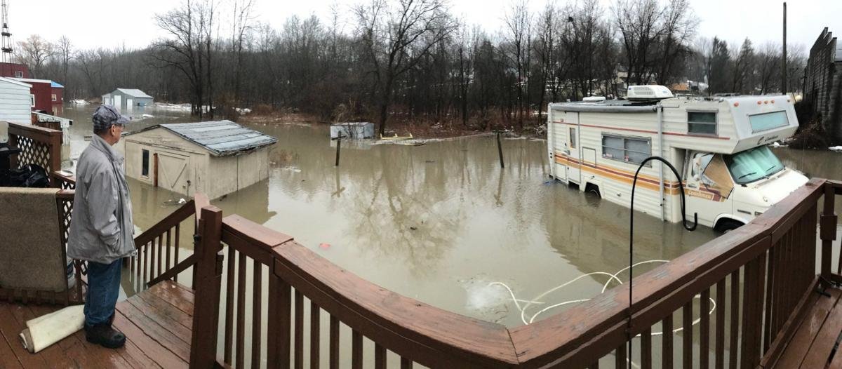 Roads closed, crews respond to flooding in Cayuga County