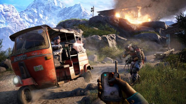Far Cry 4 Ps4 Review The Thrill Of Chaos One Icon At A Time