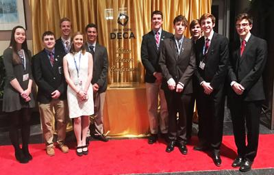 Skaneateles High School students take part in DECA State Career Conference